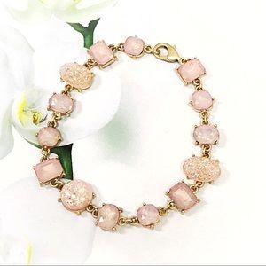 Jewelry - BOGO💫Druzy Pink Bracelet